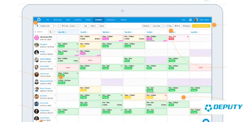 15 best employee scheduling software of 2019  comparison