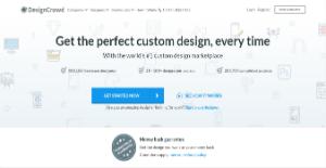 Logo of DesignCrowd