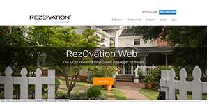 Logo of RezOvation