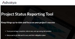 Logo of Advaiya Project Status Reporting