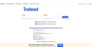 Logo of Indeed.com