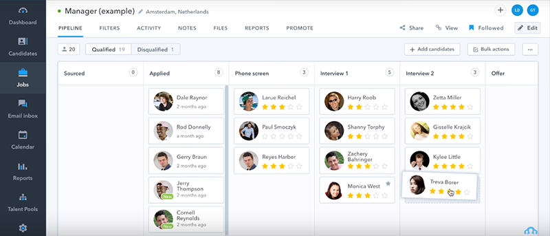 20 Best Applicant Tracking Software Solutions of 2019