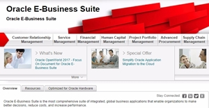 Oracle E-Business Suite Reviews: Overview, Pricing and Features
