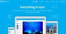 Logo of Sync.com