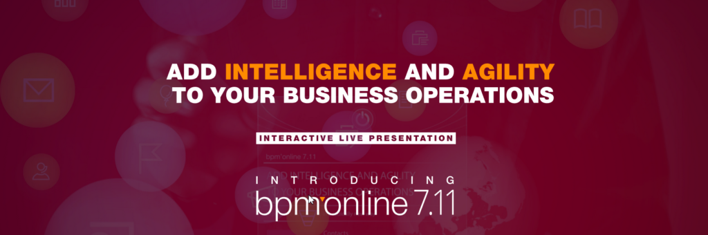 Add intelligence and agility to your business operations