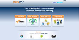 Logo of OpenVPN