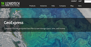 Logo of GeoExpress