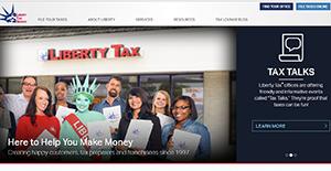 Logo of Liberty Tax Online