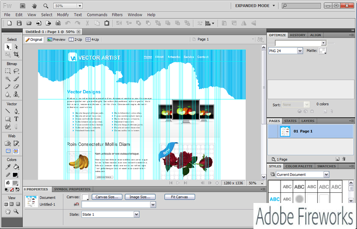 Adobe Fireworks CS6 Is A Robust Yet Lightweight Image Editing Tool That Enables You To Easily Create Graphics For Apps And Websites Without Needing Coding
