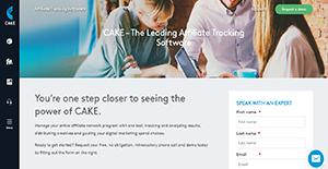 Logo of CAKE Affiliate Tracking