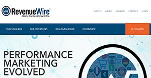 Logo of RevenueWire