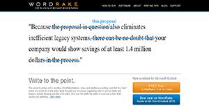 Logo of WordRake