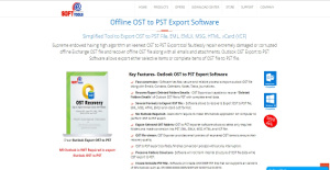 Logo of eSoftTools OST to PST Converter