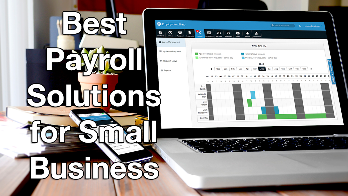 What is the Best Payroll Software for Small Business? - Financesonline.com