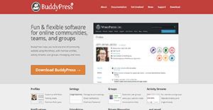 Logo of BuddyPress