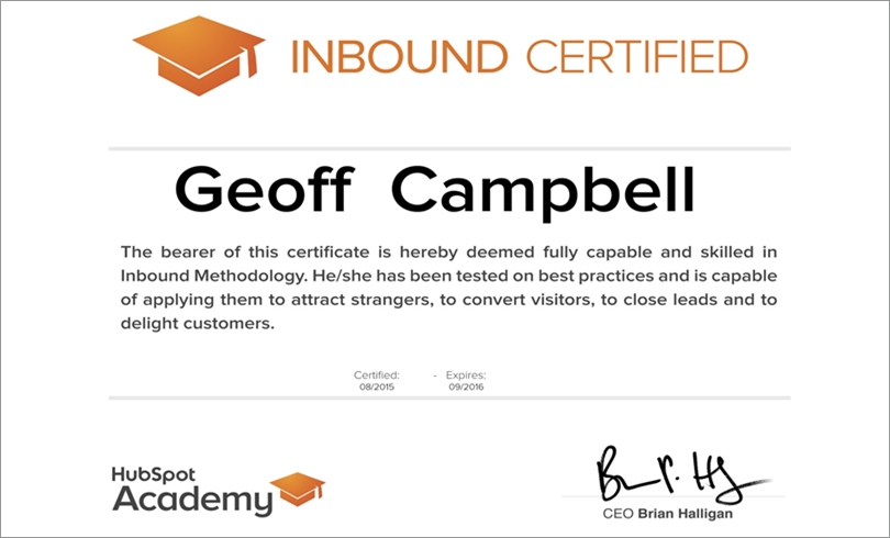Is HubSpot's Inbound Marketing Certification Worth Your Time