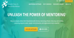 Logo of Chronus Mentoring