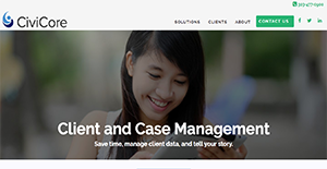 Logo of CiviCore Client and Case Management Software