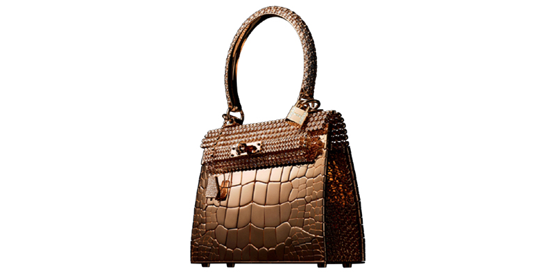2 Hermes Kelly Rose Gold Million