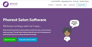 Logo of Phorest Salon Software