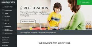 Logo of SportsEngine Registration