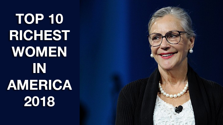 Top 10 Richest Women in America in 2018: Alice Walton
