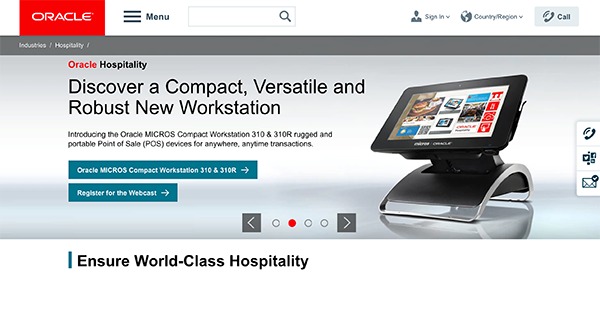 Oracle Hospitality Reviews: Overview, Pricing and Features