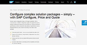 SAP CPQ Reviews: Overview, Pricing and Features