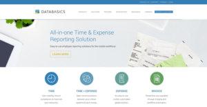 Logo of DATABASICS Time + Expense