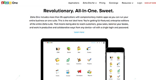 Zoho One Reviews: Overview, Pricing and Features