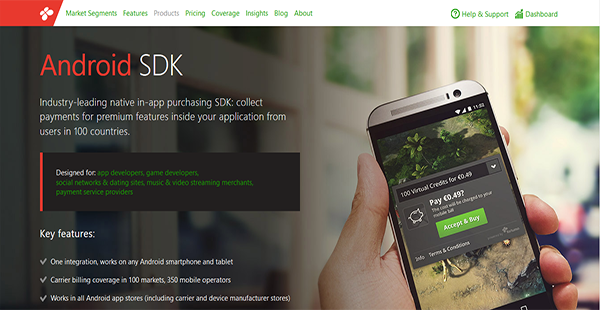 Fortumo Android SDK Reviews: Overview, Pricing and Features