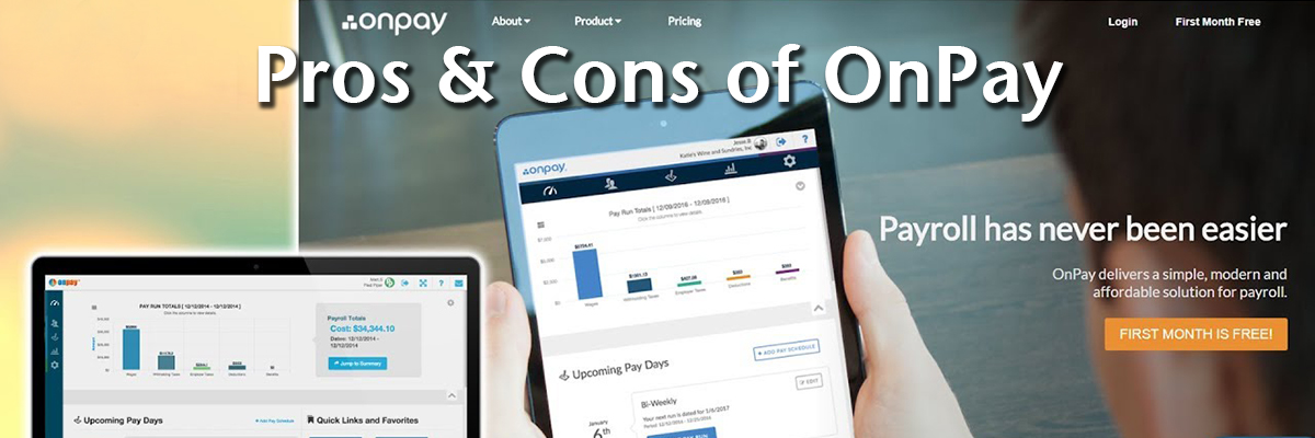 Pros & Cons of OnPay: Analysis of a Popular Payroll Software