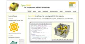 Logo of OpenSCAD