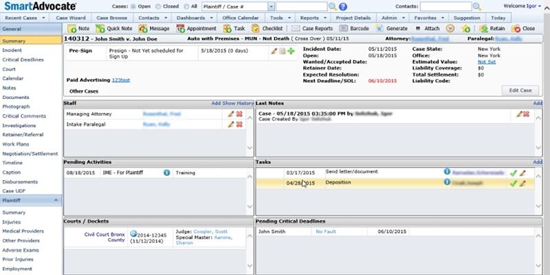 Best Legal Case Management Software For Mac