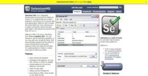 Logo of Selenium IDE