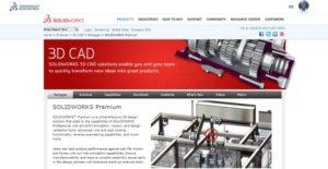Logo of SolidWorks Premium