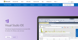 Logo of Visual Studio IDE