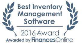 This award is given to the best product in our Inventory Management Software category. It highlights its superior quality and underlines the fact that it's a leader on the market.
