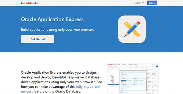 Oracle Application Express Reviews: Overview, Pricing and