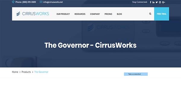 The Governor Reviews: Overview, Pricing and Features