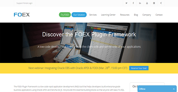 FOEX Plugin Framework Reviews: Overview, Pricing and Features