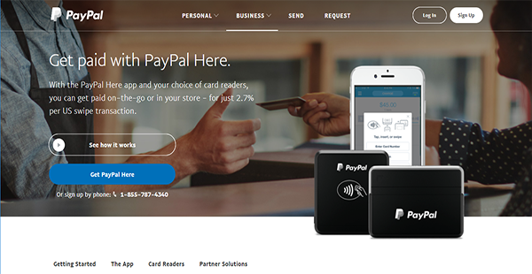 PayPal Here Reviews: Overview, Pricing and Features