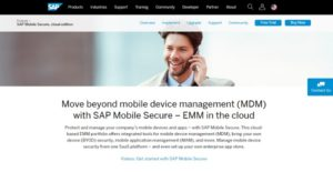 SAP Mobile Secure Reviews: Overview, Pricing and Features