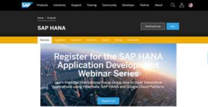 Logo of SAP HANA Cloud Platform