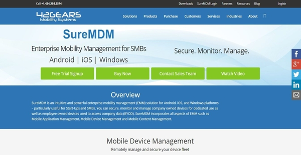 SureMDM Reviews: Overview, Pricing and Features