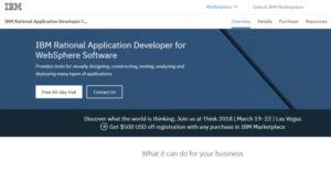 Logo of Rational Application Developer