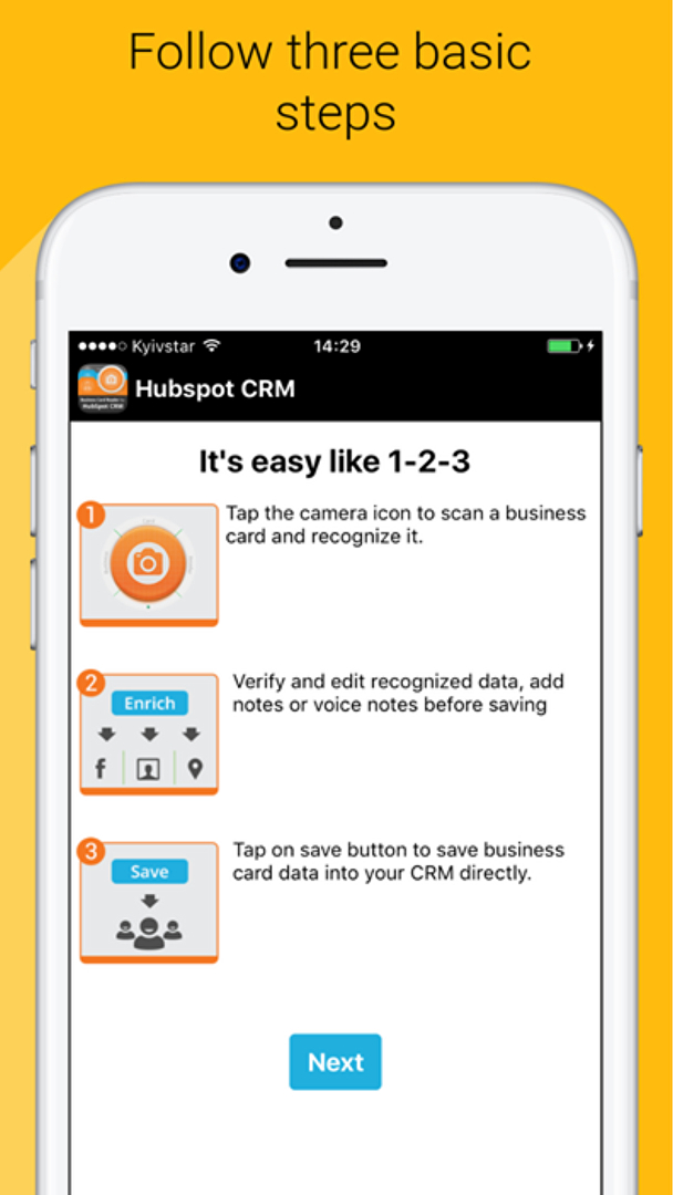 Business card reader for hubspot crm reviews overview pricing and business card reader for hubspot crm dashboard 5 reheart Choice Image