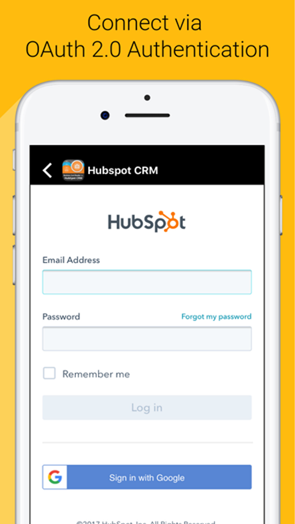 Business card reader for hubspot crm reviews overview pricing and business card reader for hubspot crm dashboard 4 reheart Choice Image