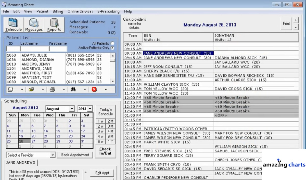 List of Top 30 EMR Software Companies for Electronic Medical
