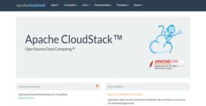 Logo of Apache CloudStack